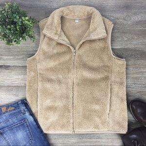 Uniqlo | Fluffy Yarn Fleece Vest